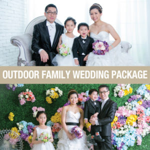 Outdoor Family Wedding Package