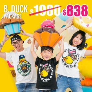 SENS x B.Duck 家庭攝影套餐